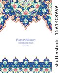 eastern ethnic motif ... | Shutterstock .eps vector #1561408969
