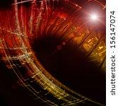 futuristic technology wave... | Shutterstock . vector #156147074