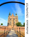 Small photo of Copenhagen, Denmark. Rosenborg Castle. The palace of the era of King Christian IV (1577-1648gg.), Preserved unchanged from 1633