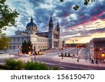 in the center of madrid we can... | Shutterstock . vector #156150470