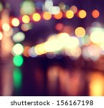 City Lights Blurred Bokeh...