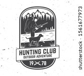 set of hunting club badge.... | Shutterstock .eps vector #1561677973
