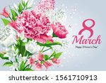 Horizontal 8 March Women\'s Day...