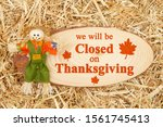 Closed For Thanksgiving Messag...