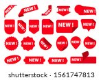 stickers for new arrival shop... | Shutterstock .eps vector #1561747813