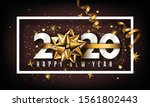new year 2020 creative... | Shutterstock .eps vector #1561802443