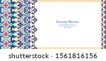 eastern ethnic motif ... | Shutterstock .eps vector #1561816156