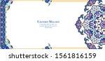 eastern ethnic motif ... | Shutterstock .eps vector #1561816159
