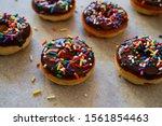 Homemade Mini Chocolate Donuts  ...