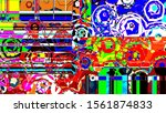 abstract bright colorful... | Shutterstock . vector #1561874833