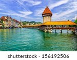Chapel Bridge In Lucerne ...