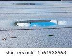 Ponding Rainwater On Flat Roof...
