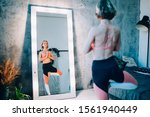 healthy lifestyle exercise... | Shutterstock . vector #1561940449