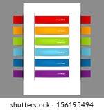 vector illustration of set of...   Shutterstock .eps vector #156195494