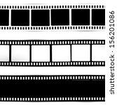 film  movie  photo  filmstrip ... | Shutterstock .eps vector #156201086