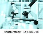 laboratory microscope lens | Shutterstock . vector #156201248