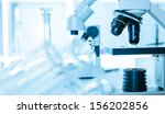 laboratory microscope lens... | Shutterstock . vector #156202856