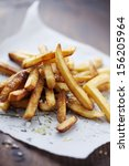 french fries | Shutterstock . vector #156205964