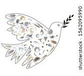 Dove. Dove Of Peace. A Dove...