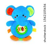 Cute Elephant Rattle Doll With...
