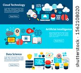 artificial intelligence... | Shutterstock .eps vector #1562108020