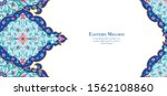 eastern ethnic motif ... | Shutterstock .eps vector #1562108860