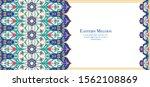 eastern ethnic motif ... | Shutterstock .eps vector #1562108869