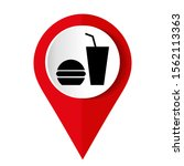 icon fast food. coffee icon... | Shutterstock .eps vector #1562113363
