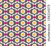 seamless vector art geometric... | Shutterstock .eps vector #156214373