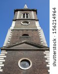 Small photo of London, United Kingdom - Saint Botolph without Aldgate church. Grade I listed building.