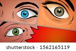 comic book action layout... | Shutterstock . vector #1562165119