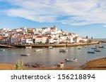 ferragudo  lagoa  algarve ... | Shutterstock . vector #156218894