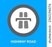 vector highway road  street...   Shutterstock .eps vector #1562196076