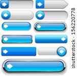 arrow blue design elements for... | Shutterstock .eps vector #156220778