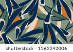 hand drawn abstract pattern.... | Shutterstock .eps vector #1562242006