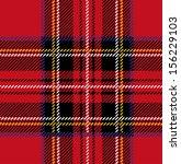 royal stewart tartan seamless... | Shutterstock .eps vector #156229103