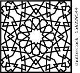 Beautiful complex twelve (12) point ancient islamic star geometric pattern ornament. Notable building that implement this ornament include Al-Azhar Mosque (built in 972) hence the name Al Azhar Panel