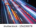 night traffic | Shutterstock . vector #156230078