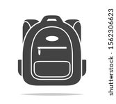 school bag icon vector isolated | Shutterstock .eps vector #1562306623