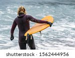 Arctic Surfers Surfing In...