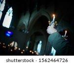 Christingle Celebration In An...
