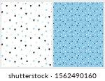 simple hand drawn irregular... | Shutterstock .eps vector #1562490160