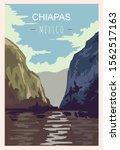 Chiapas Retro Poster. Chiapas...