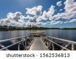 Boat Dock Naples Florida With...