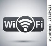 vector not genuine wi fi icon | Shutterstock .eps vector #156254288