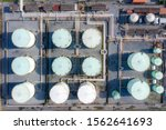 Aerial View Of Chemical...