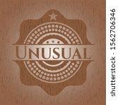 unusual retro wood emblem.... | Shutterstock .eps vector #1562706346