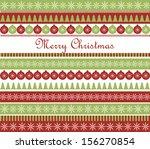 christmas greeting card. raster ... | Shutterstock . vector #156270854
