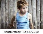 portrait of a boy | Shutterstock . vector #156272210