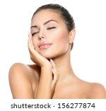 beauty portrait. beautiful spa...   Shutterstock . vector #156277874